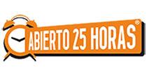 Franquicia Abierto 25 horas