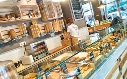 panaria, es un lugar de desayunos y almuerzos en la calle capitan haya, 9, en madrid, reportaje para groupalia.