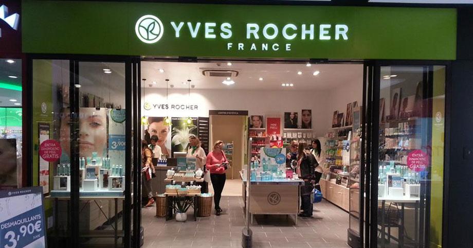 Cabina Estetica Yves Rocher : Yves rocher mundo franquicia