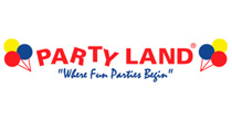 Logo Party Land