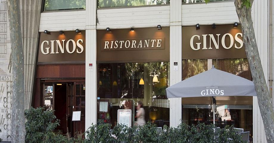 restaurante ginos franquicia