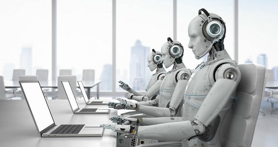 Resultado de imagen de robots en empresas