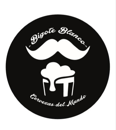 Logo Bigote Blanco