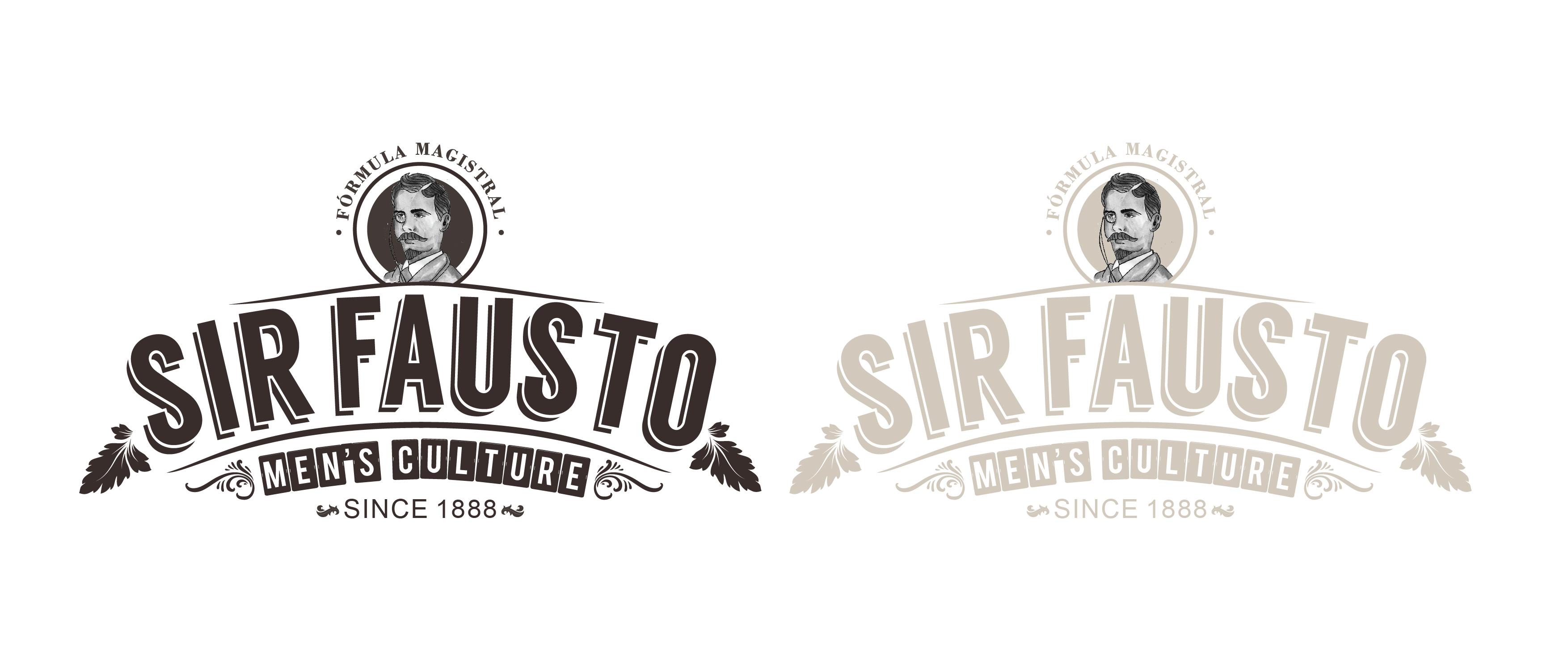 Logo Sir Fausto: barbería y peluquería para el hombre moderno