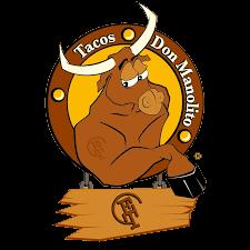 Logo Tacos Don Manolito. Taquerías Mexicanas