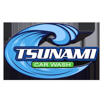 Logo Tsunami Carwash