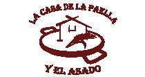 Logo La casa de la paella y el asado